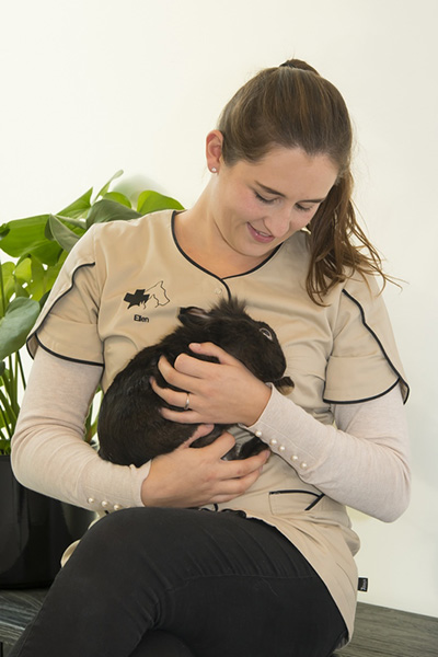 Dierenartsassistente Ellen De Rudder